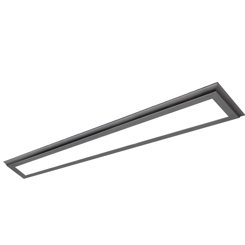 Nuvo Blink Plus 40w LED 5x48in Surface Mount LED Fixture - Bronze - 3000K