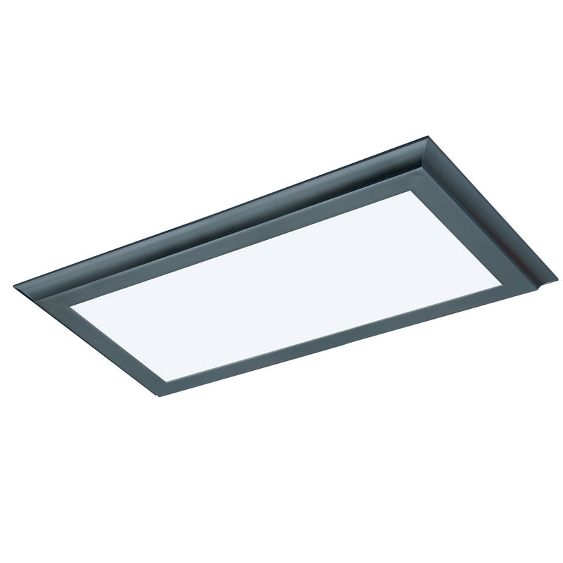 Nuvo Blink Plus 22w LED 12x24in Surface Mount LED Fixture - Bronze - 3000K