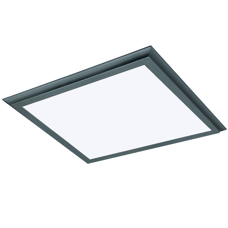 Nuvo Blink Plus 45w LED 24x24in Surface Mount LED Fixture - Bronze - 3000K