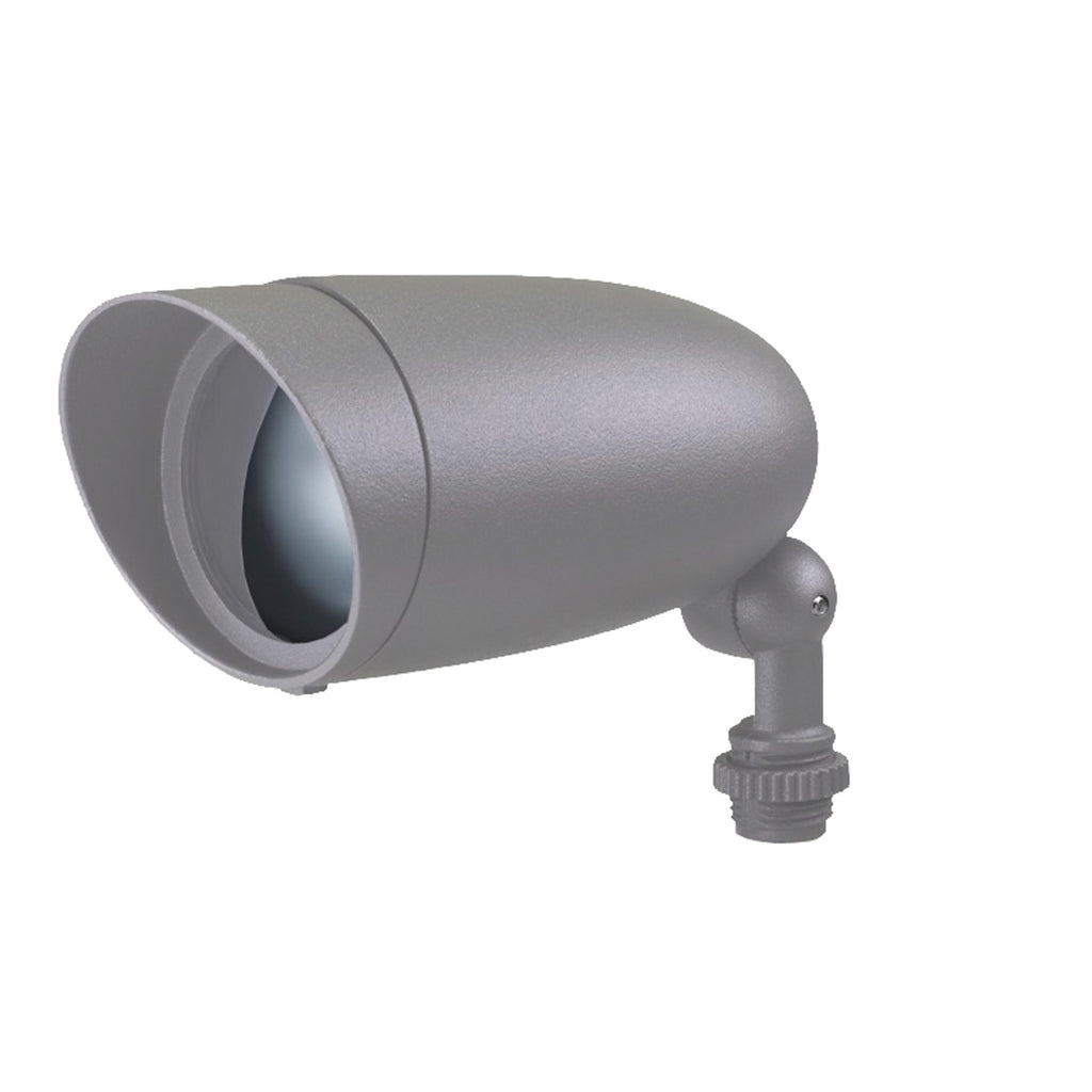 6 Watt LED Landscape Flood 3000K - Light Gray
