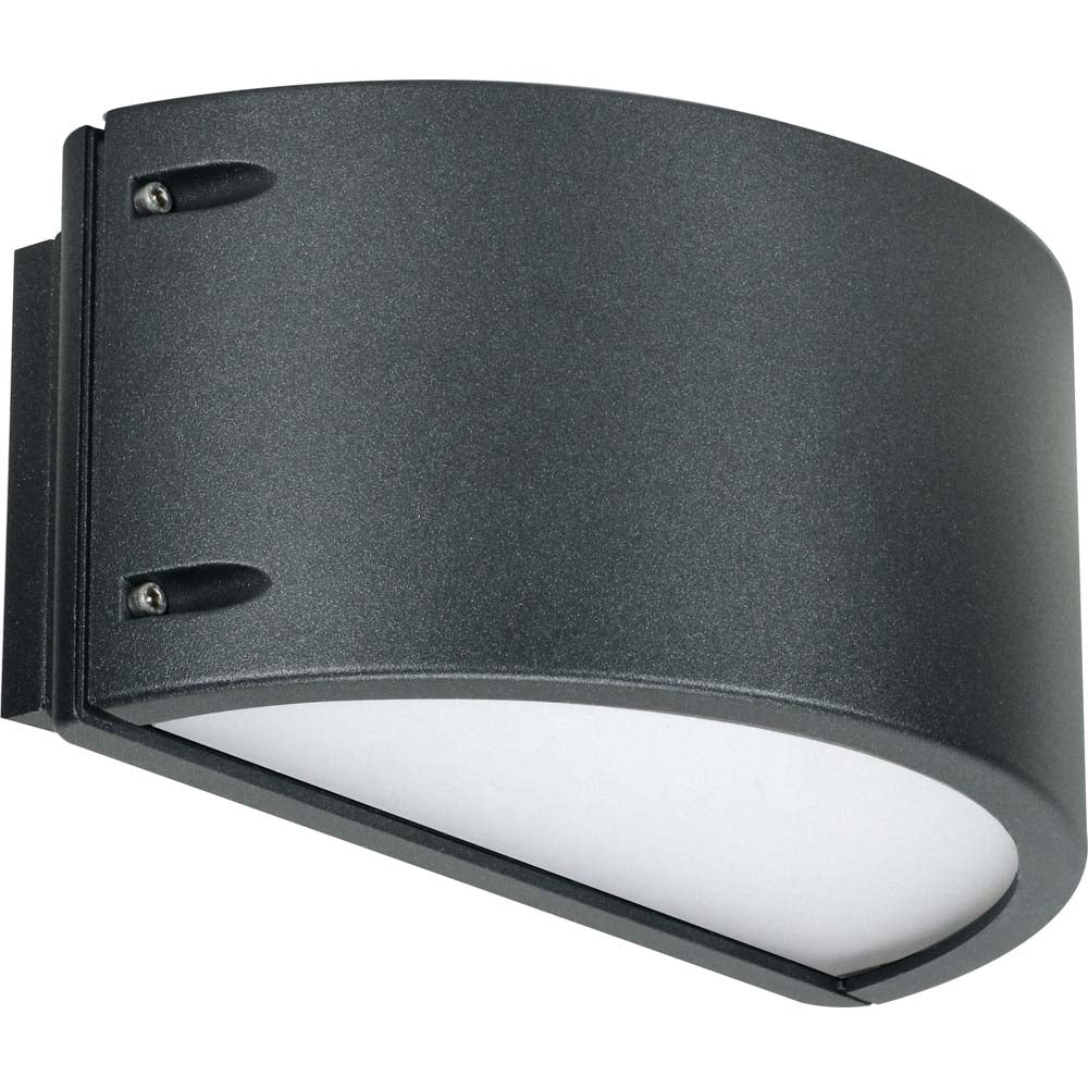 Nuvo Lighting 12w Genova Wall Sconce Plus Anthracite Finish