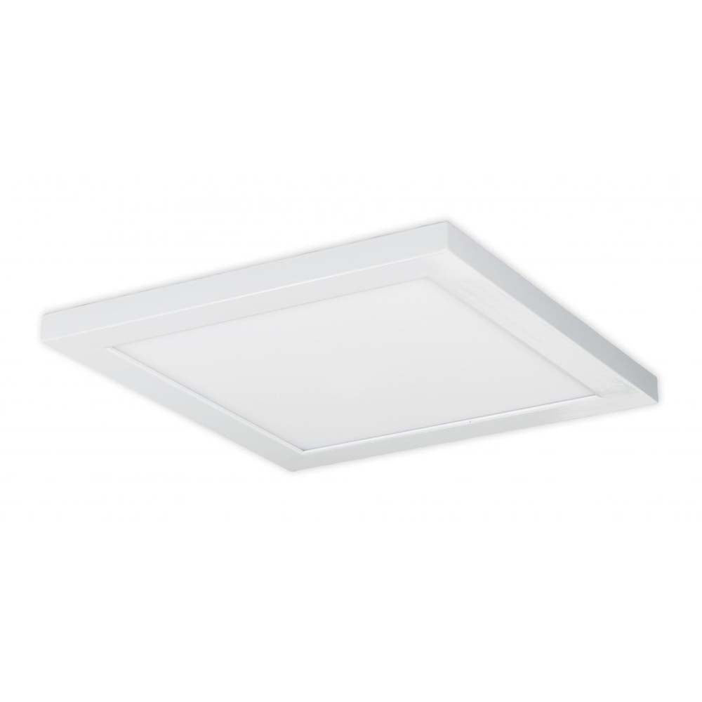 Nuvo 18w Blink Plus 12 x 12 Surface Mount LED 120-277v in White Finish 4000k