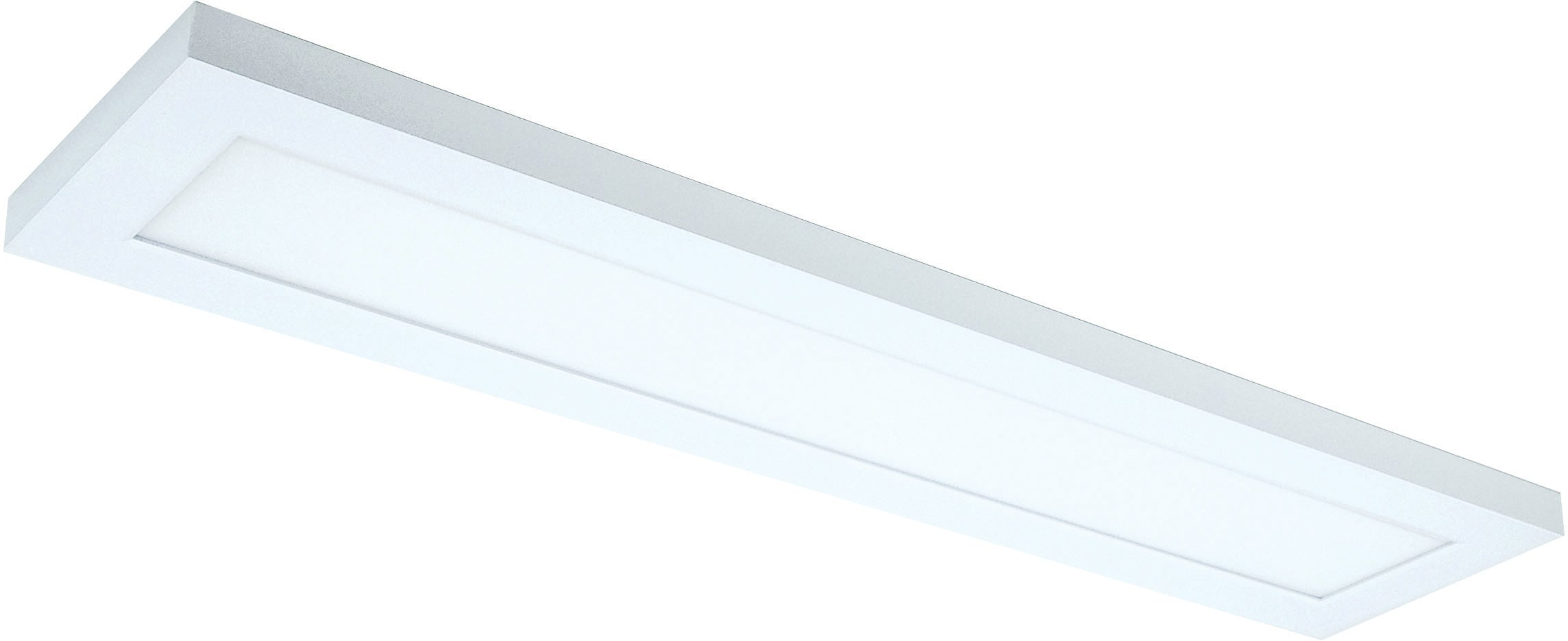 Nuvo 22w Blink Plus 5 x 24 Surface Mount LED 120-277v in White Finish 4000k
