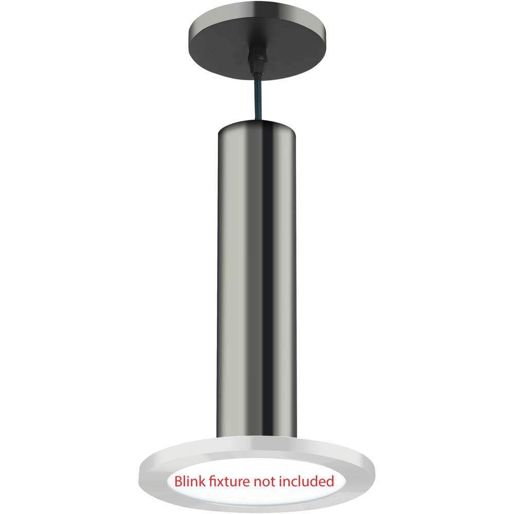 BLINK Slim Blink 7 in. Pendant Kit Polished Nickel Finish