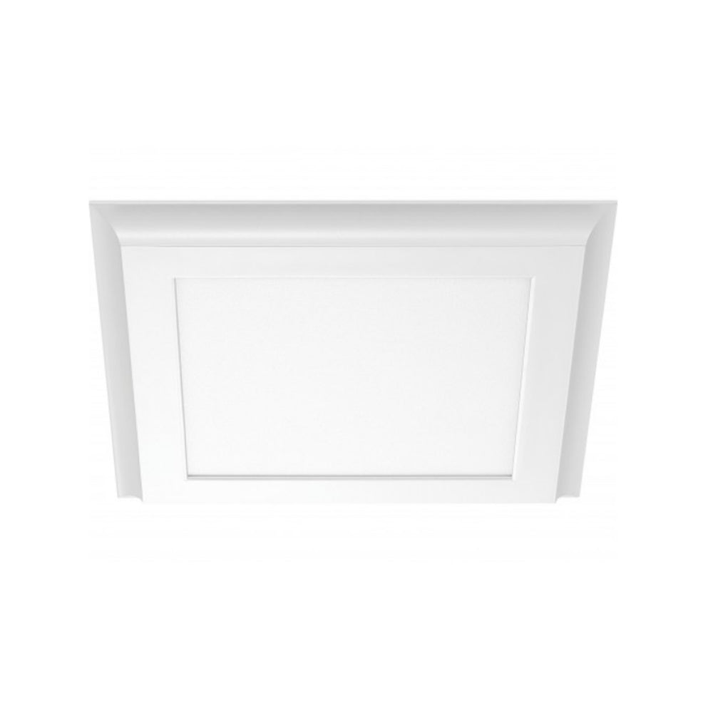 Nuvo Blink Plus 18w LED 12x12in Surface Mount LED Fixture - White - 3000K