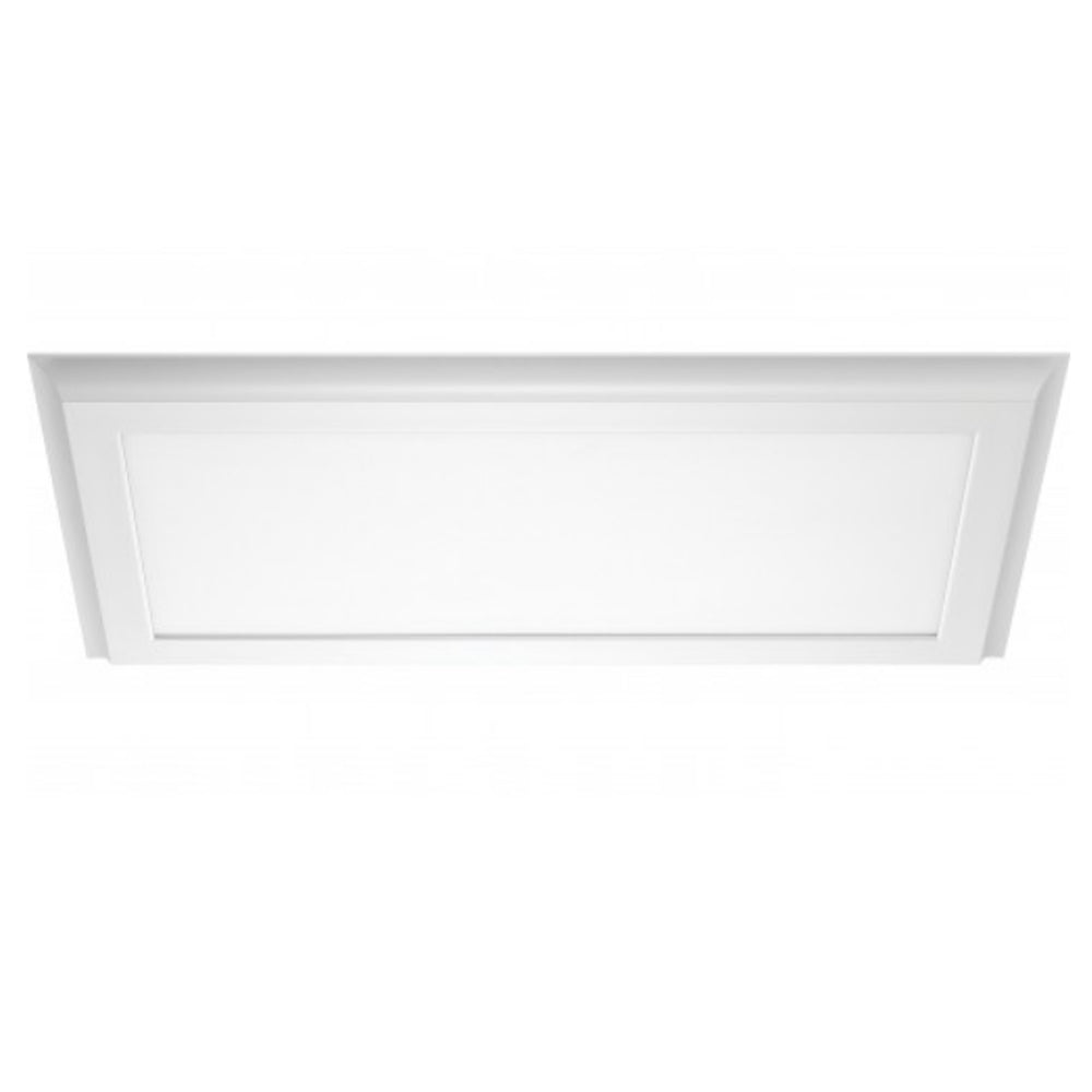 "Nuvo Blink Plus 22w 12"". x 25"" Surface Mount LED Fixture in White Finish 4000k"