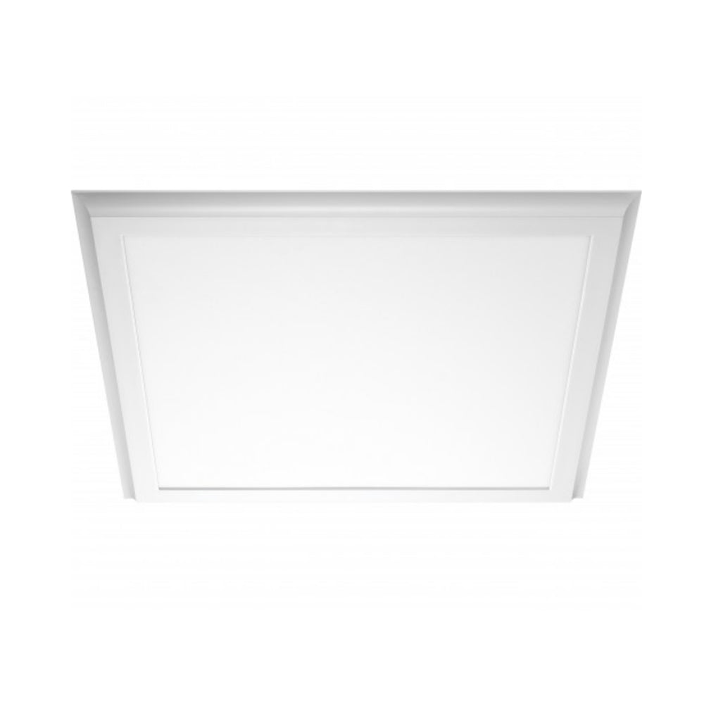 Nuvo Blink Plus 45w LED 25x25in Surface Mount LED Fixture - White- 4000K
