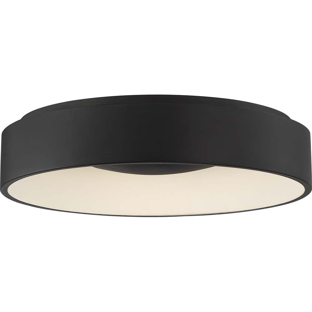 Nuvo Lighting 30w Orbit Led 30W Flush Mount Black Finish