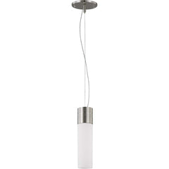 Nuvo Lighting 24w Link Led 1-Light Pendant Brushed Nickel Finish