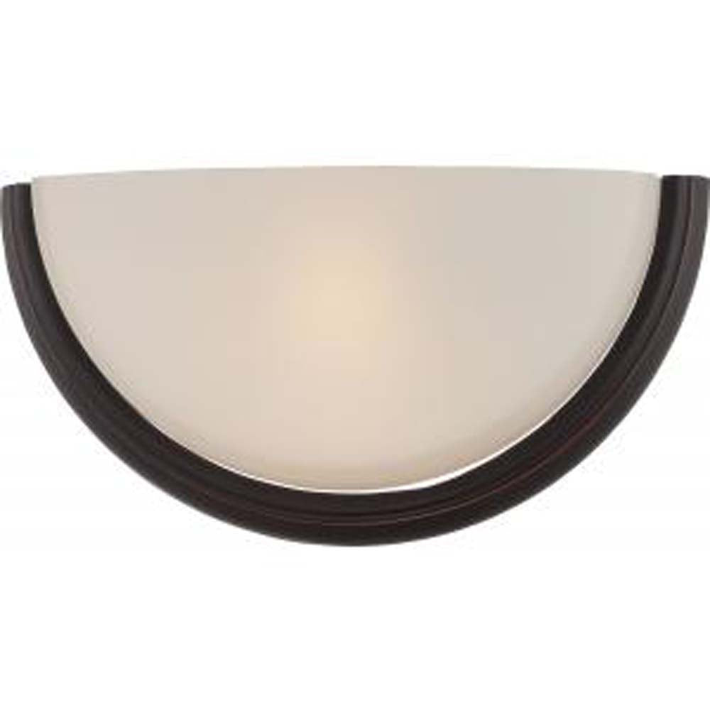 Dylan - 1 Light Wall Sconce w/ Etched Opal Glass - LED Omni Included