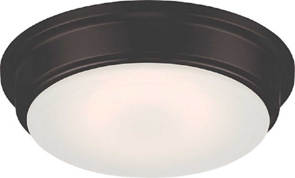 Nuvo Lighting Haley 16W LED 13 inch Ceiling Flush Frosted Glass Mount Fixture