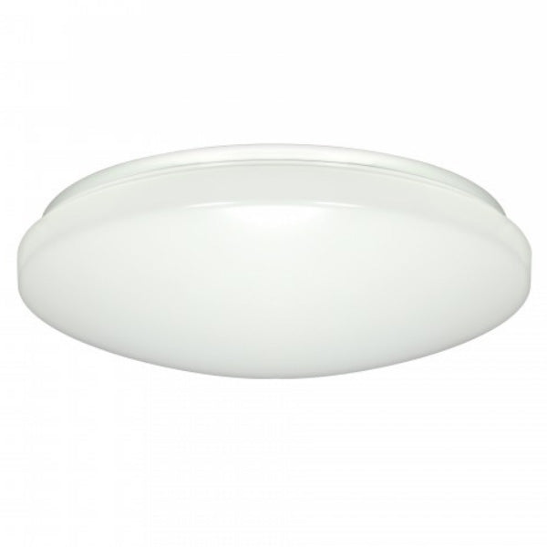 Nuvo 16.5w LED 11 inch Rounded LED Flush Mount  with Occupancy Sensor - 3000K