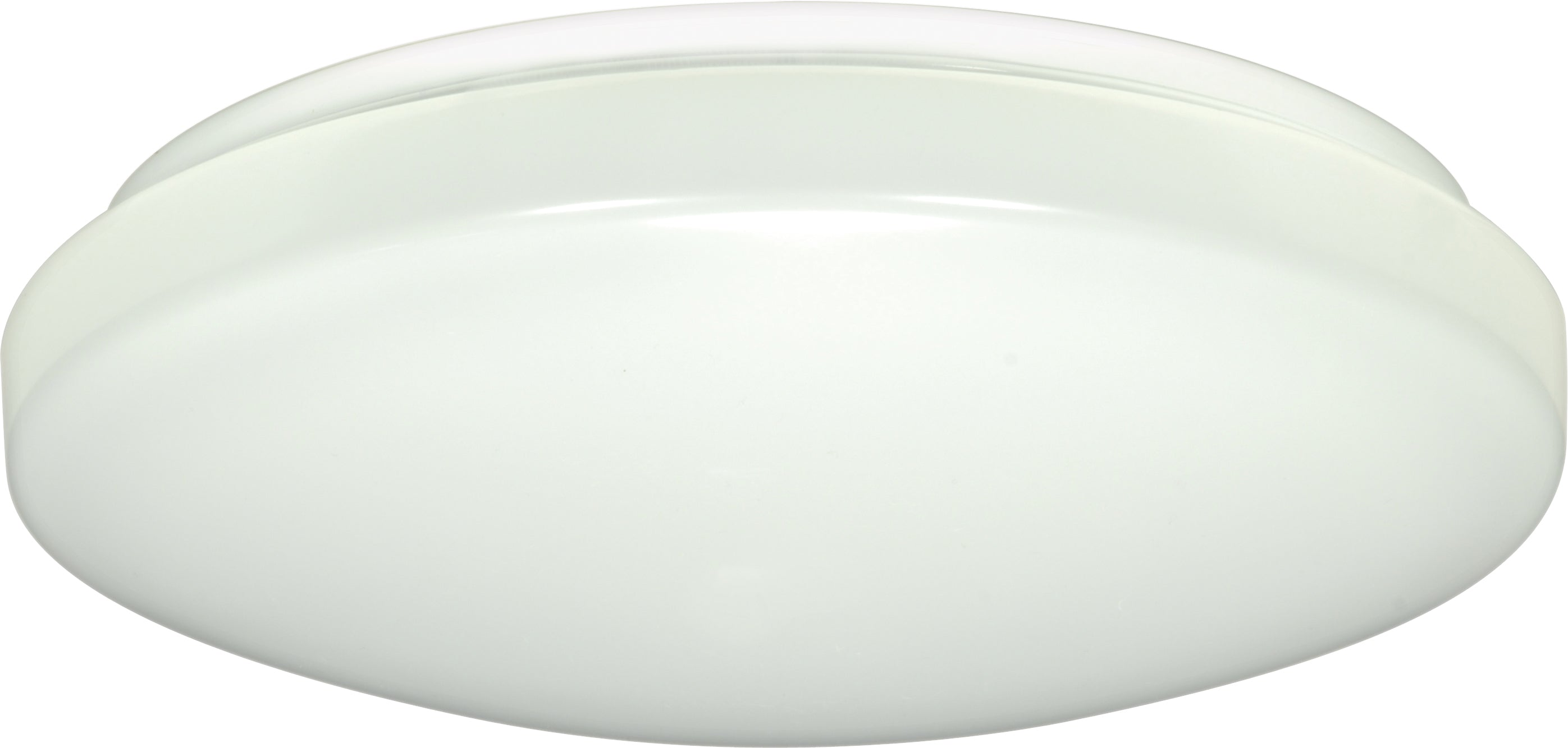 "Nuvo 1-Light 11"" Flush Mounted LED Light Fixture White Finish 120-277v 3000k"