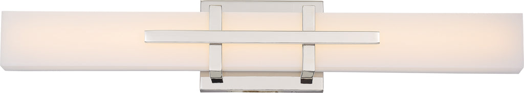 Grill 2-Light Wall Sconce Vanity & Wall Light Fixture in Polished Nickel Finish