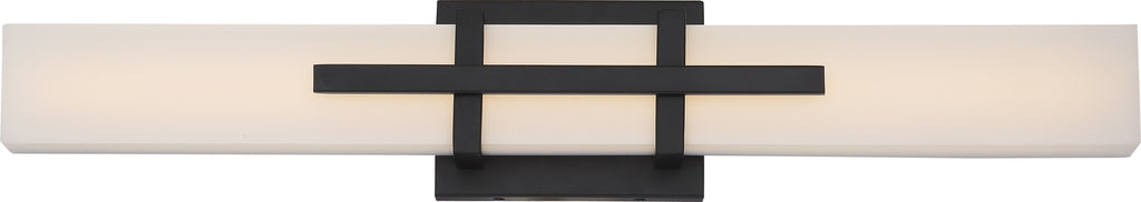 "Nuvo Grill 1-Light 26w 24"" LED Decorative Wall Sconce in Aged Bronze Finish"