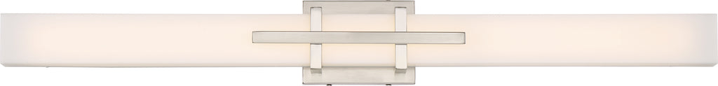 "Nuvo Grill 1-Light 39w 36"" LED Decorative Wall Sconce in Polished Nickel Finish"