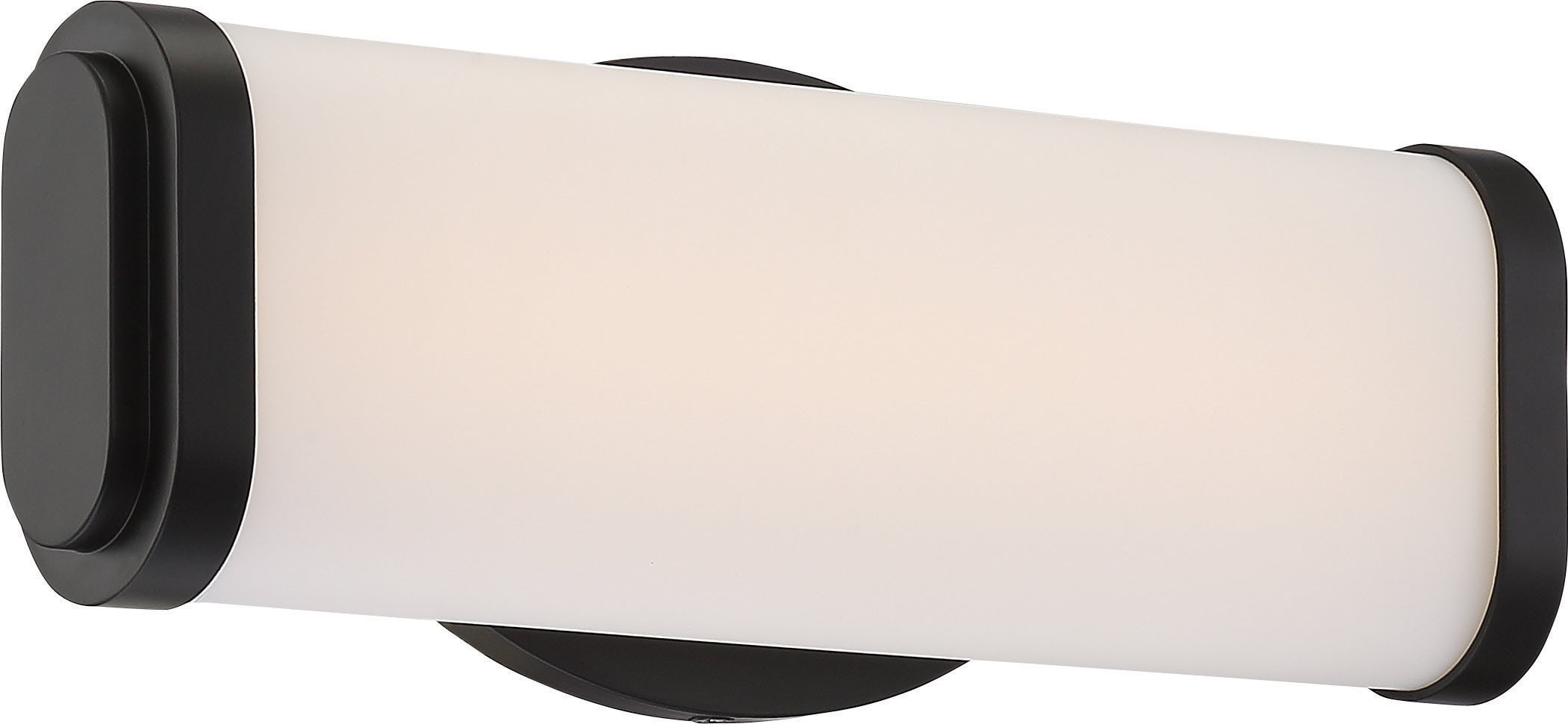 """Nuvo Pace 1-Light 12"""" Single Wall Sconce Vanity & Wall Fixture In Aged Bronze"""