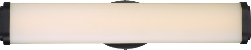 "Nuvo Pace 1-Light 24"" Double Wall Sconce Vanity & Wall Fixture In Aged Bronze"