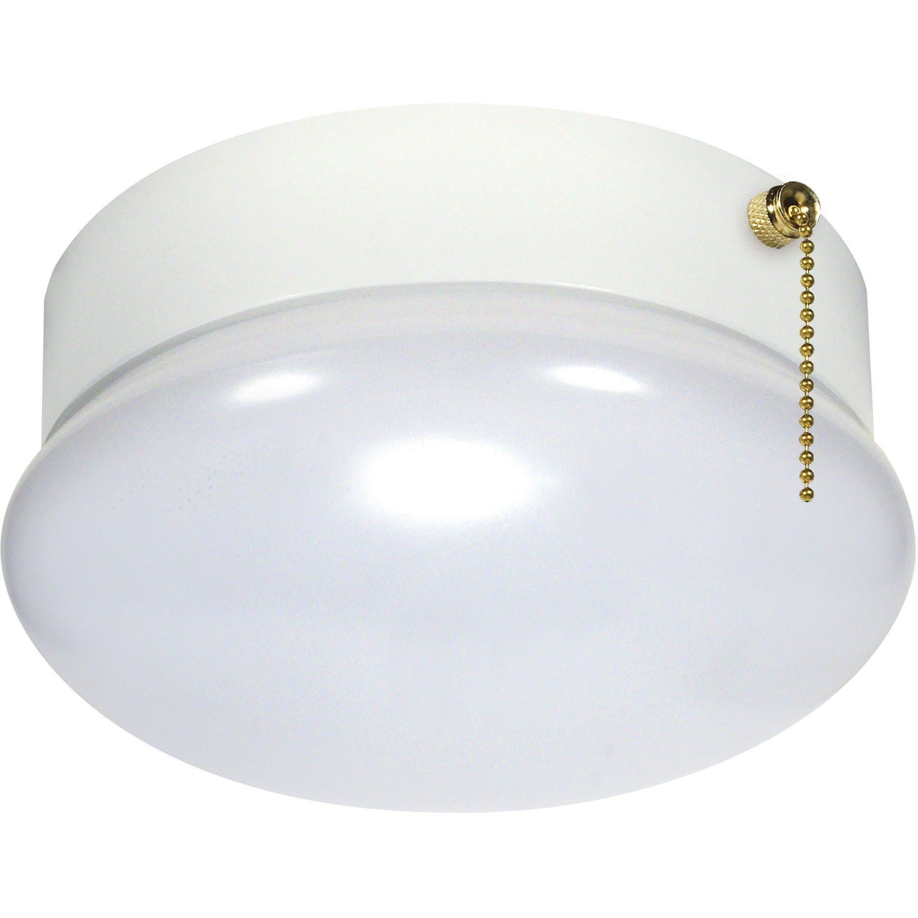 Nuvo 62-965 LED 13W 7 Inch Flush Mount Light with Pull Chain - 3000K ...