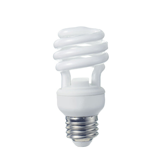GE 16/25/32W 3 Way CFL Spiral Reveal Compact Fluorescent bulb