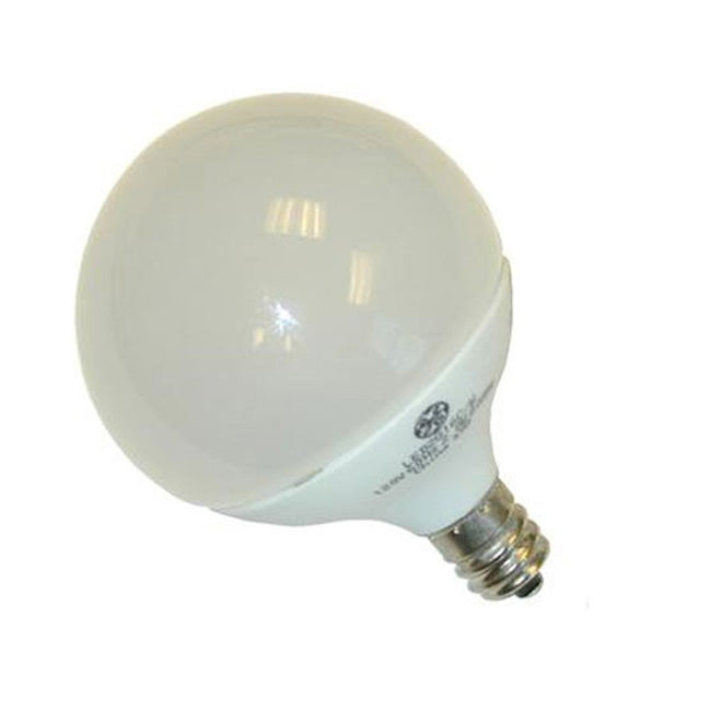 GE 1.8W 120V E12 G16.5 LED White Light Bulb