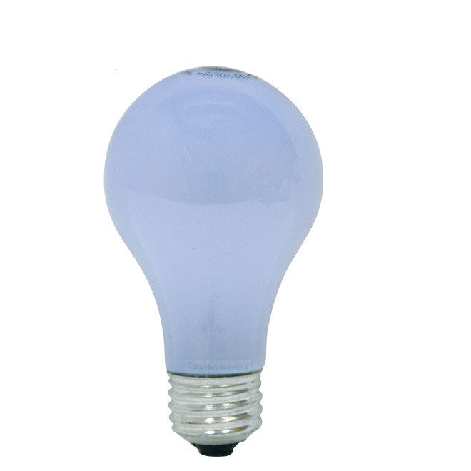 GE 43W A19 Halogen Frost Reveal Energy-Efficient - replace 60w Incand - 2 bulbs