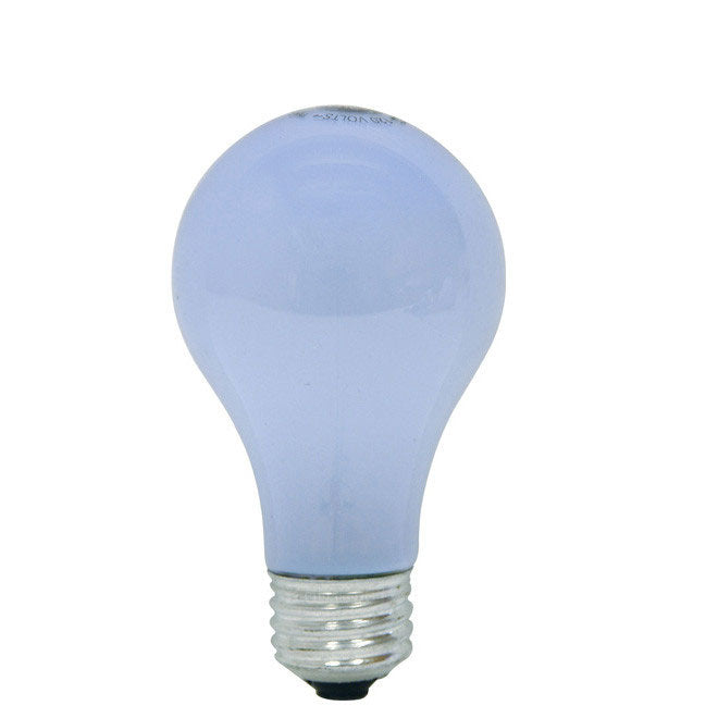 GE 53W A19 Halogen Frost Reveal Energy-Efficient - replace 75w Incand - 2 bulbs