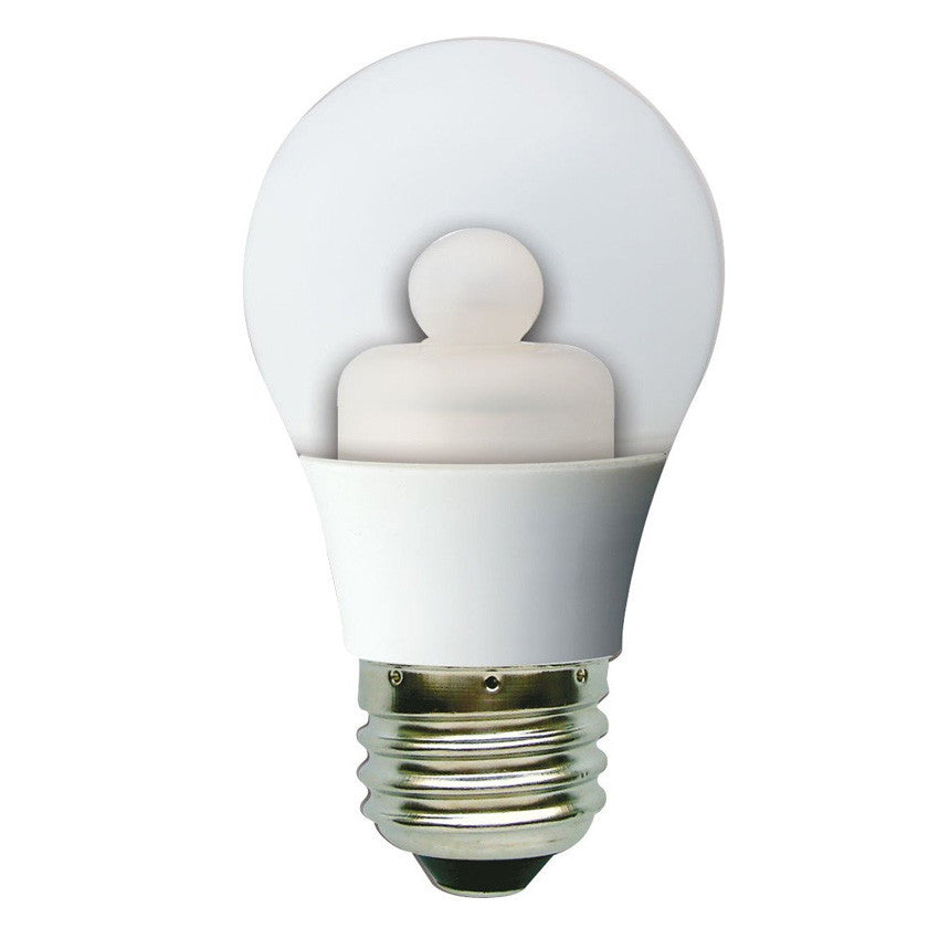 GE 63012 3w LED E26 3000K A15 A-Shape 120v Ceiling Fan Light Bulb - 15w equiv.
