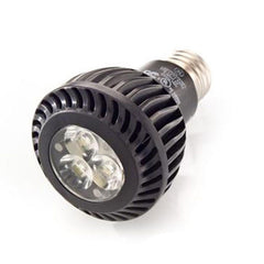 GE 7W 120V PAR20 Dimmable LED Spot Light Bulb with Black Finish
