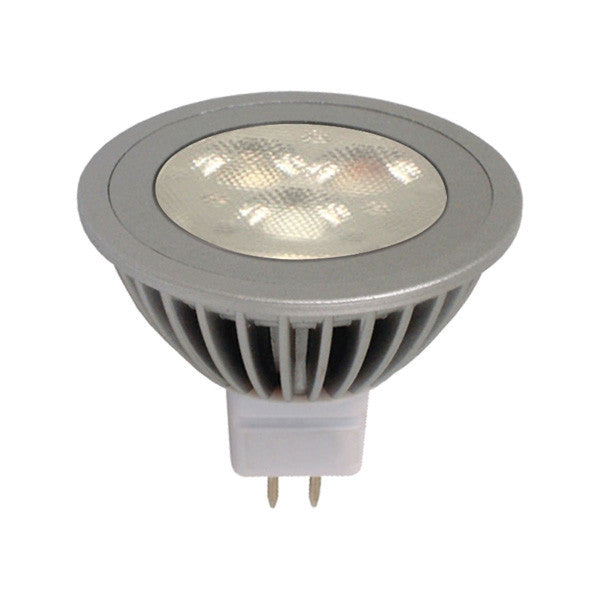 Ge 4.5w 12v 2700k 25MR16 Silver LED Light Bulb