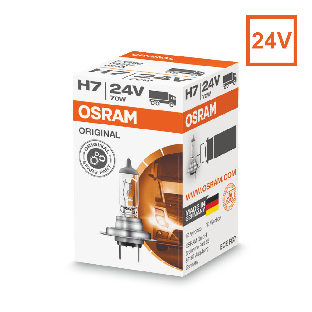 OSRAM H7 64215 24VOLT 70W Original Truck Line Halogen Automotive Bulb