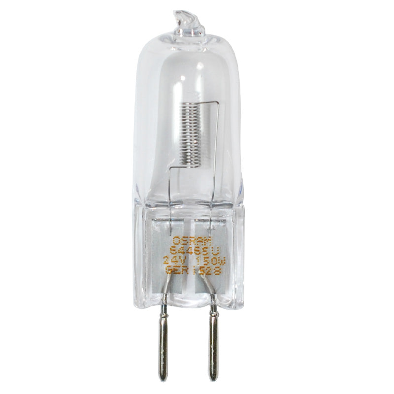 Sylvania 64465 150W 24V GY6.35 base halogen halostar light bulb