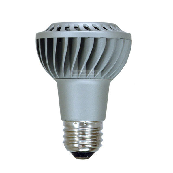 GE 7w 120v PAR20 Silver NFL20 Dimmable 2700k Silver LED Energy Smart Light Bulb