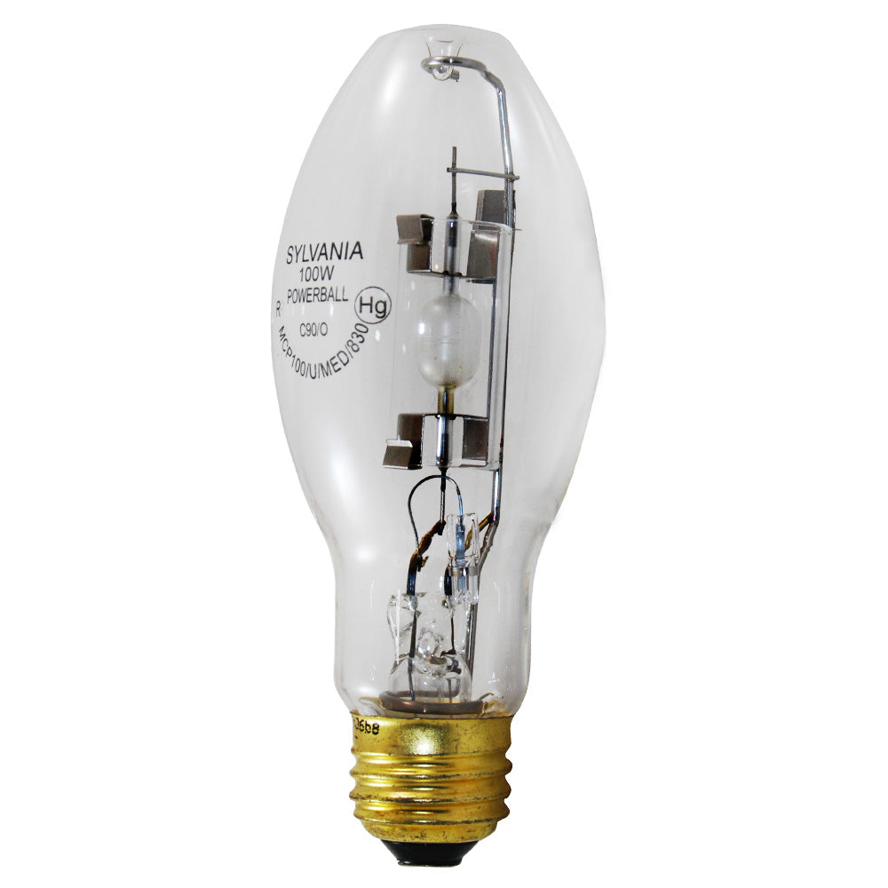 Sylvania 100w MCP100/U/MED/830 PB E26 medium base HID Bulb