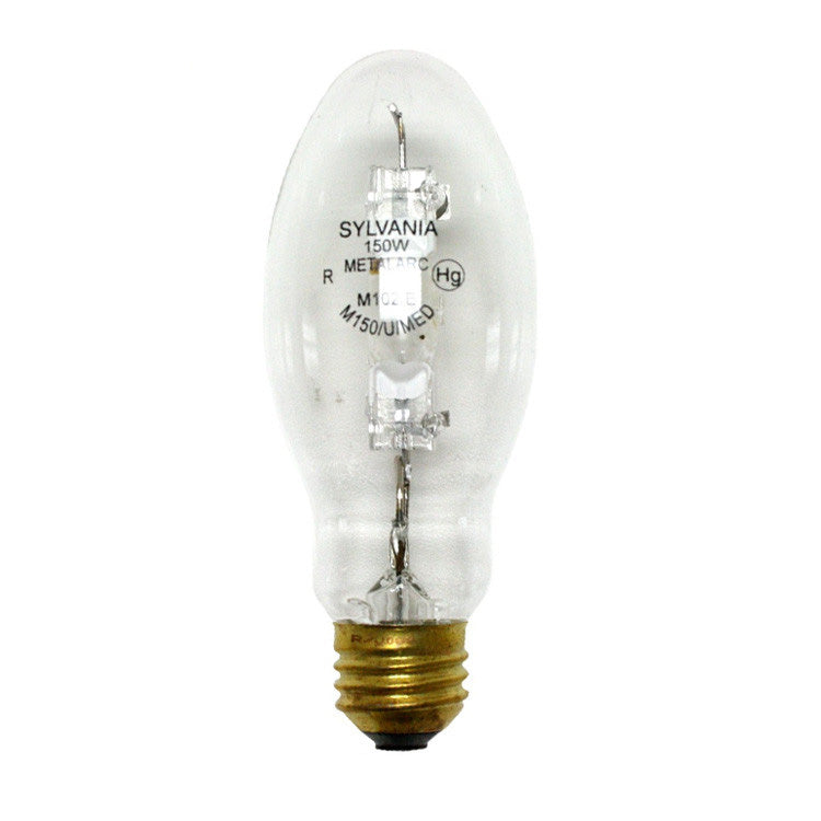Sylvania M150/U/MED 150w M102/E PULSE START quartz metal halide lamp