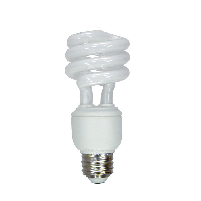 GE 15W Spiral CFL Mini Spiral Soft White Compact Fluorecent bulb