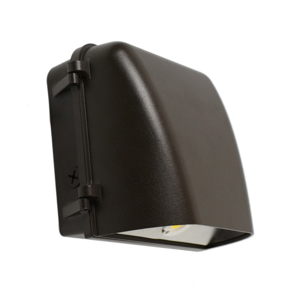 11W LED Small Wall Pack 1575Lm Bronze Finish