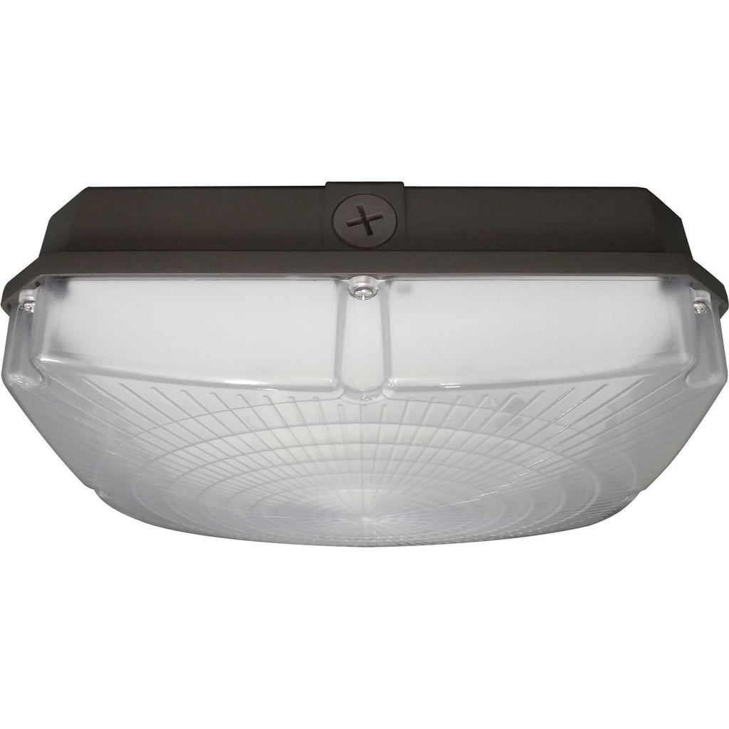 "NUVO 65-138 28W LED 8.5"" Outdoor Canopy Fixture"