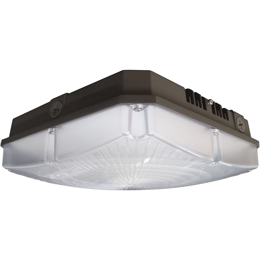 "NUVO 65-140 40W LED 8.5"" Outdoor Canopy Fixture"