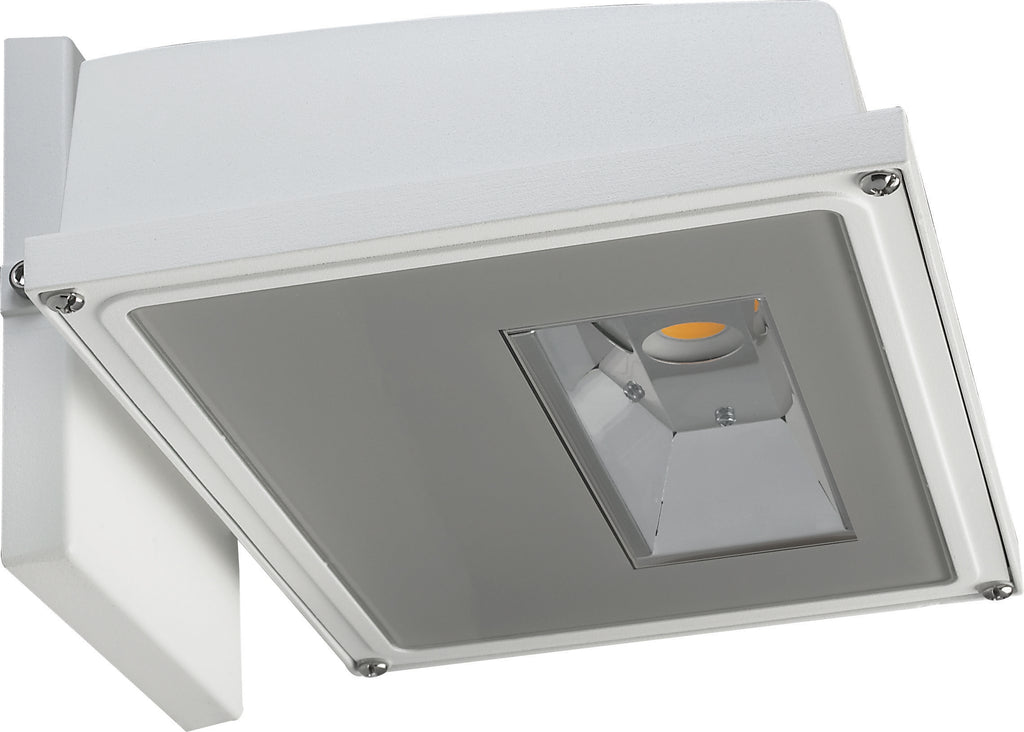 21W LED Large Wall Pack 2346Lm 4000K White Finish