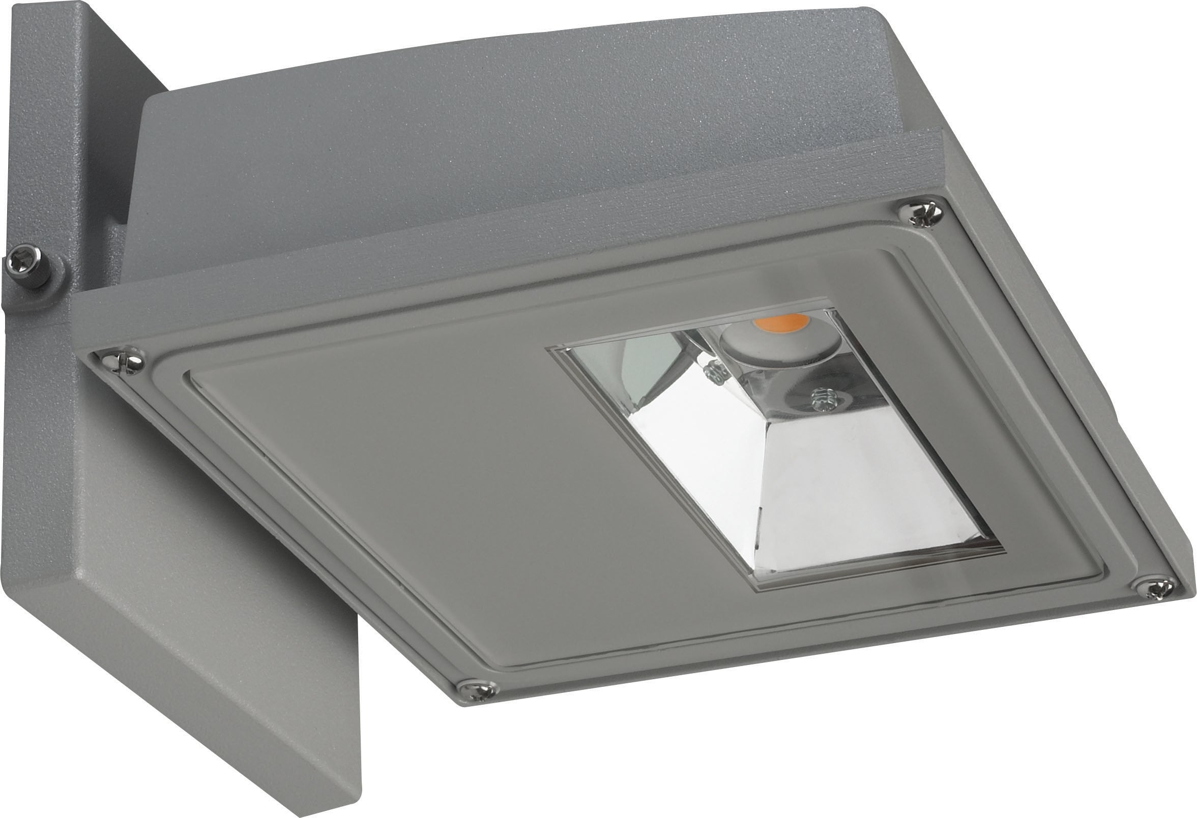 30W LED Large Wall Pack 2884Lm 3000K Gray Finish