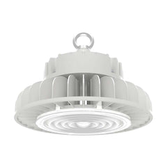 Nuvo 200w LED High bay w/ DLC Premium in White Finish 5000k