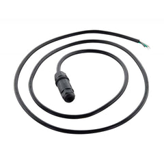 Nuvo Whip Connector 5.5 ft. IP68 Rated Black