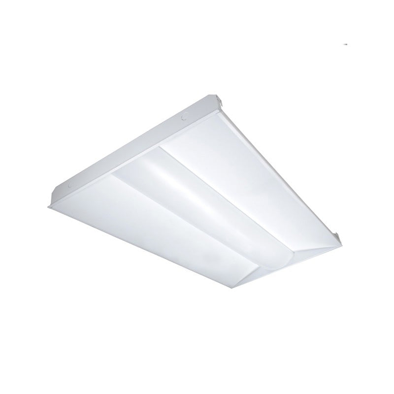 Satco 40w 2ft x 4ft LED Troffer - 5000K Daylight Dimmable