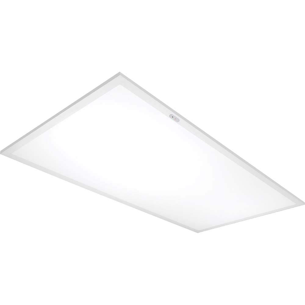 Nuvo Lighting 50w 2X4 Emergency Flat Panel 3500K White Finish