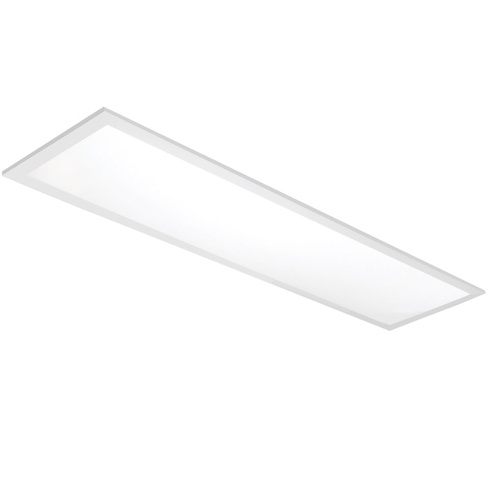 2Pk - Nuvo 40W 1x4 ft. Premium Flat Panel Fixture 3500K Neutral White 100-277v