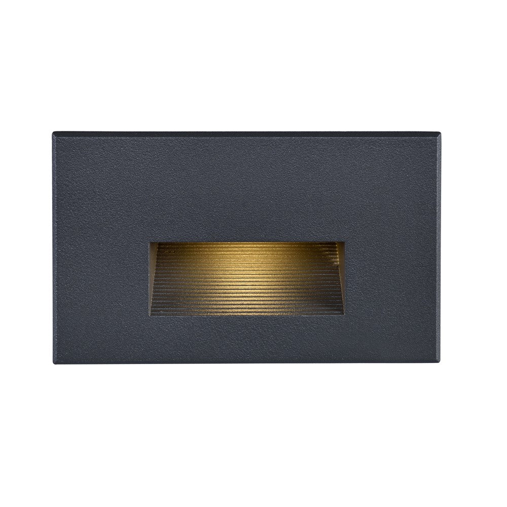 Nuvo 65-404 LED Horizontal Step Light 5 Watt Bronze Finish 277 Volts