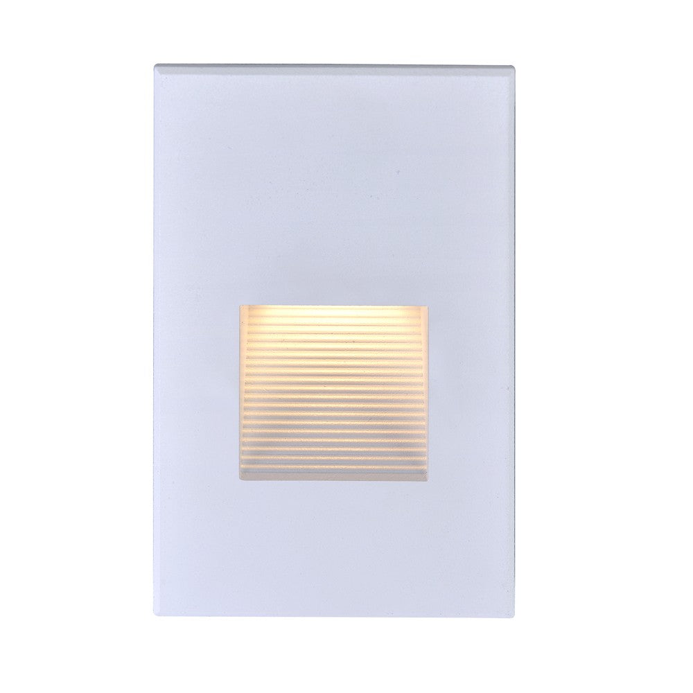 Nuvo 65-406 LED Vertical Step Light 3 Watt White Finish 277 Volts