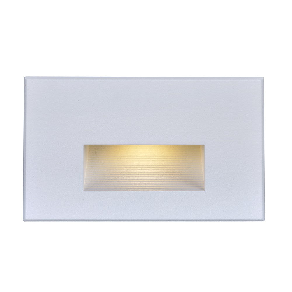 Nuvo 65-408 LED Horizontal Step Light 5 Watt White Finish 277 Volts