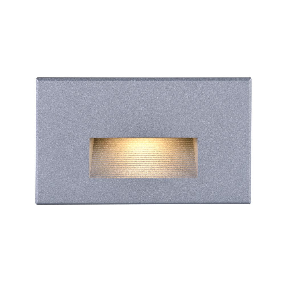 Nuvo 65-411 LED Horizontal Step Light 5 Watt Gray Finish 120 Volts